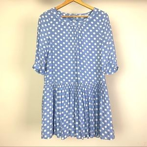 Boden Womens April Tunic Dress Size US 8R Lined